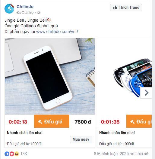 quảng cáo facebook bài viết