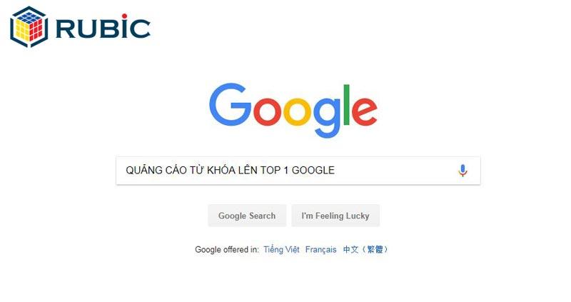 quảng cáo lên top 1 google