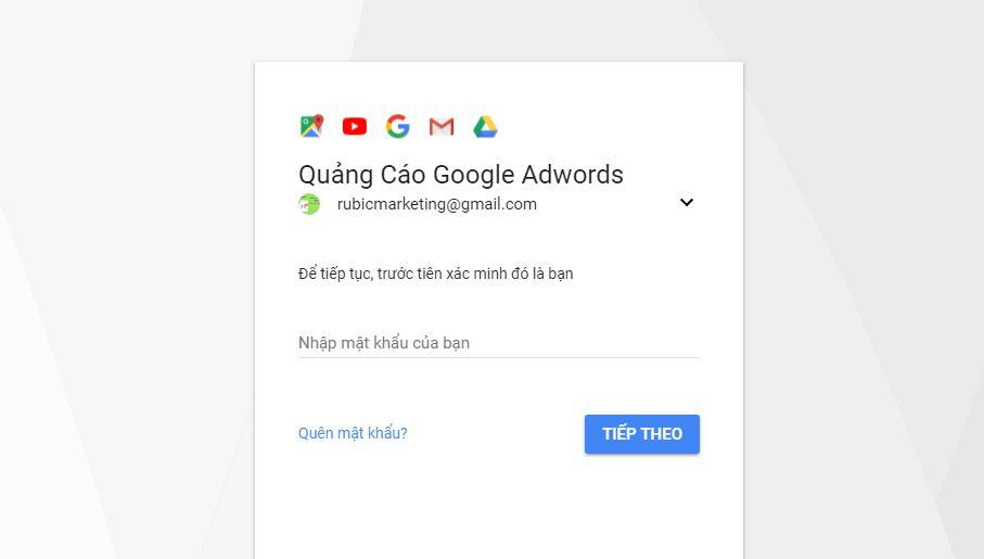 Cách đăng ký tài khoản Google Adwords
