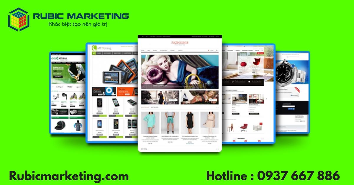 công ty thiết kế web bán hàng