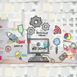 thiết kế website rubic marketing