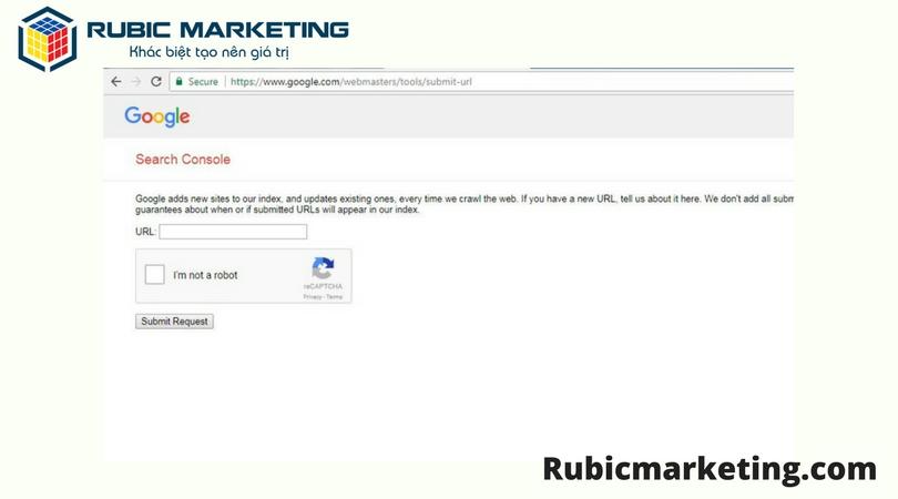 cách để trang web được google index