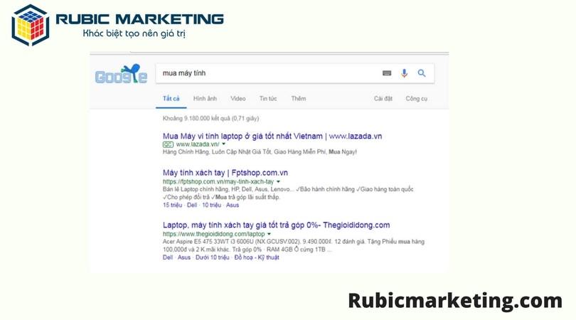 dịch vụ quảng cáo google trực tuyến