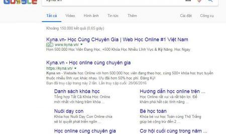 Google site links là gì ?