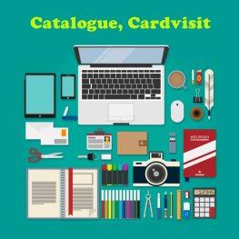 thiết kế cardvisit, catalogue
