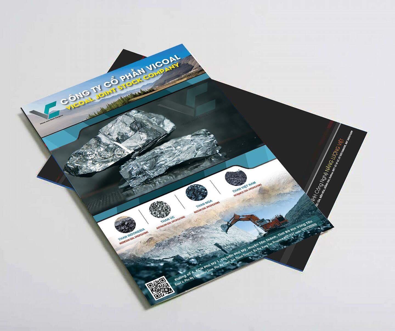 thiết kế catalogue than đá vicoal