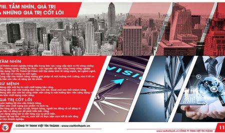 Thiết kế hồ sơ năng lực cho doanh nghiệp tại Biên Hòa