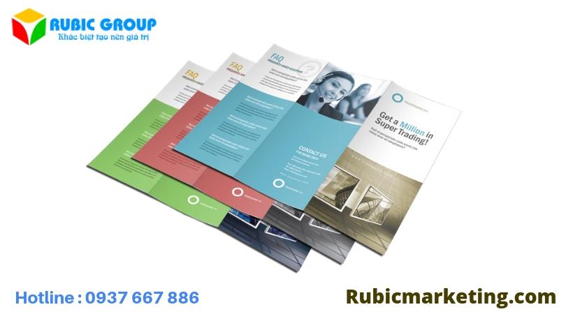 tờ rơi rubic group
