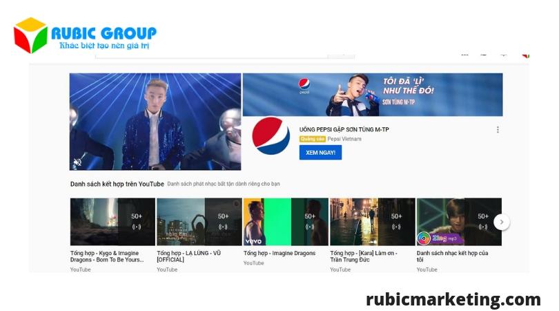 quảng cáo kênh youtube giá rẻ