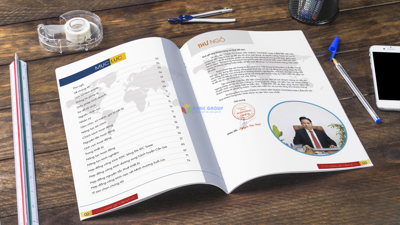 thiết kế hồ sơ năng lực cẩm mỹ hd 5