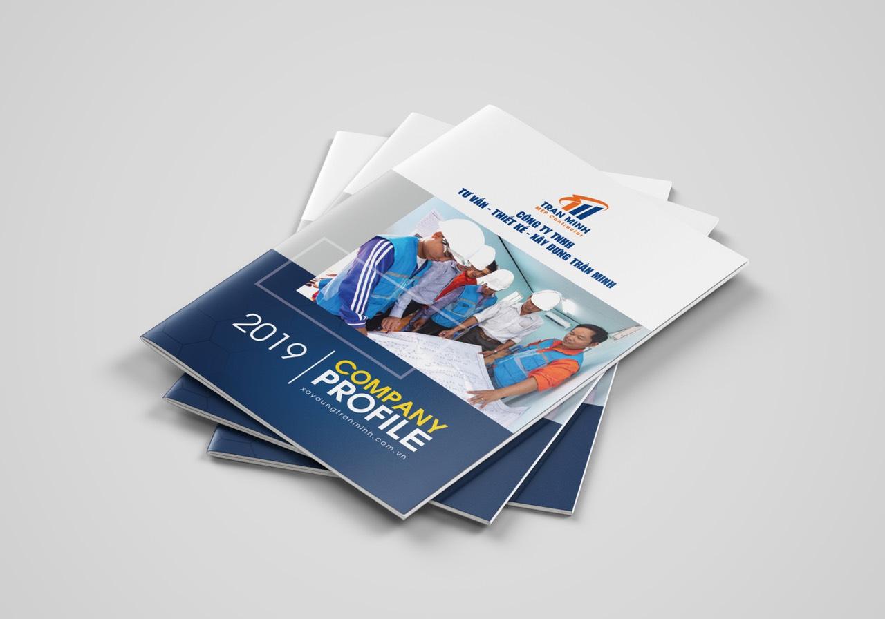 Thiết kế Hồ sơ năng lực công ty - Hỗ trợ LÀM GẤP 2-3 ngày