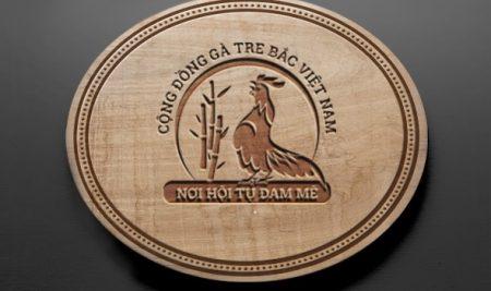 Logo cộng đồng gà tre bắc Việt Nam