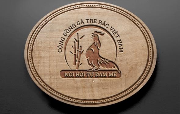Logo cộng đồng gà tre bắc Việt Nam 1