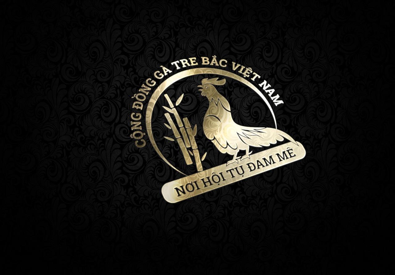 Logo cộng đồng gà tre bắc Việt Nam 5