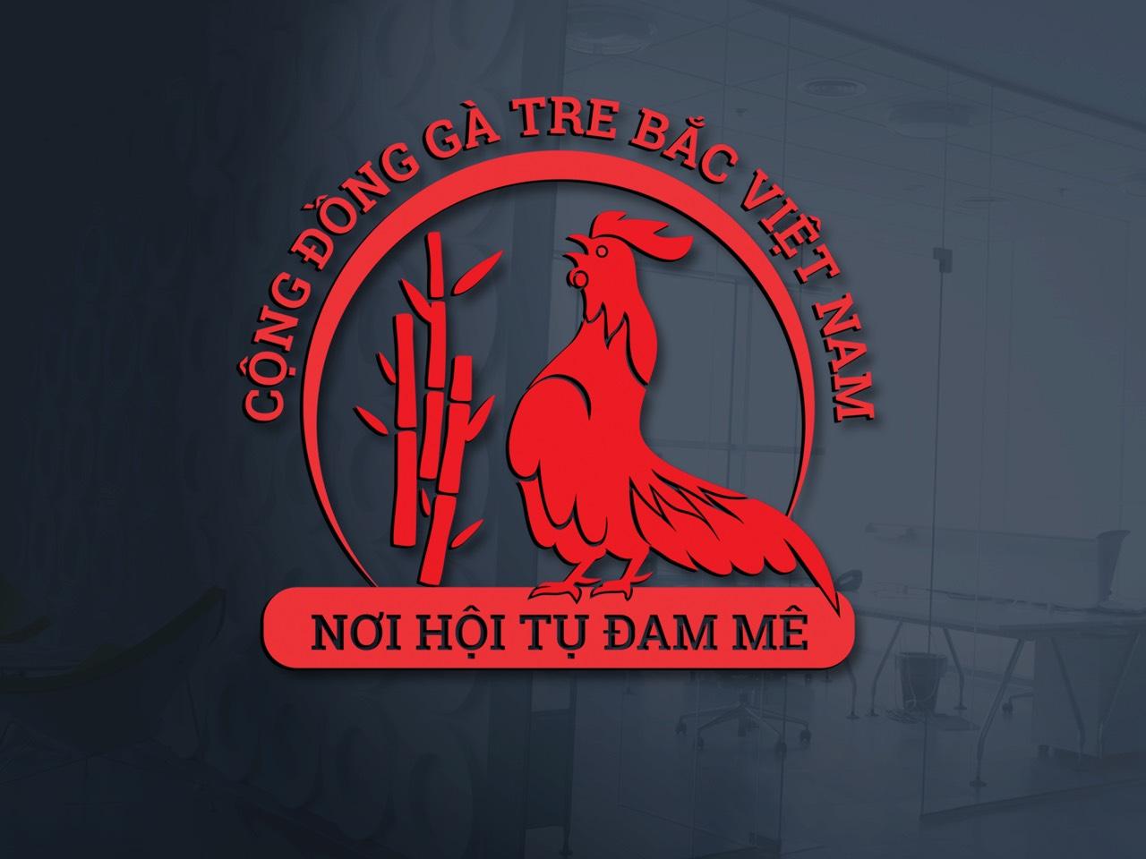 Logo cộng đồng gà tre bắc Việt Nam 6