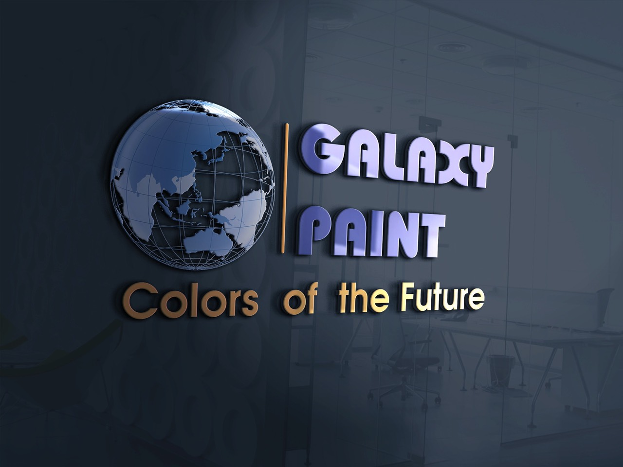 thiết kế Logo Galaxy Paint 2