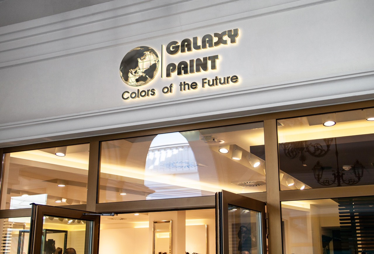 thiết kế Logo Galaxy Paint 4