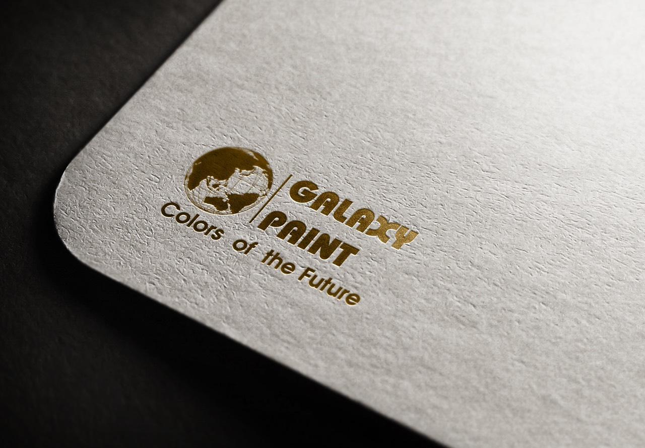 thiết kế Logo Galaxy Paint 6