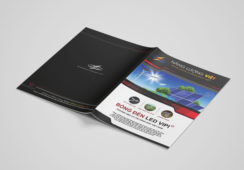 thiết kế brochure năng lượng việt 9