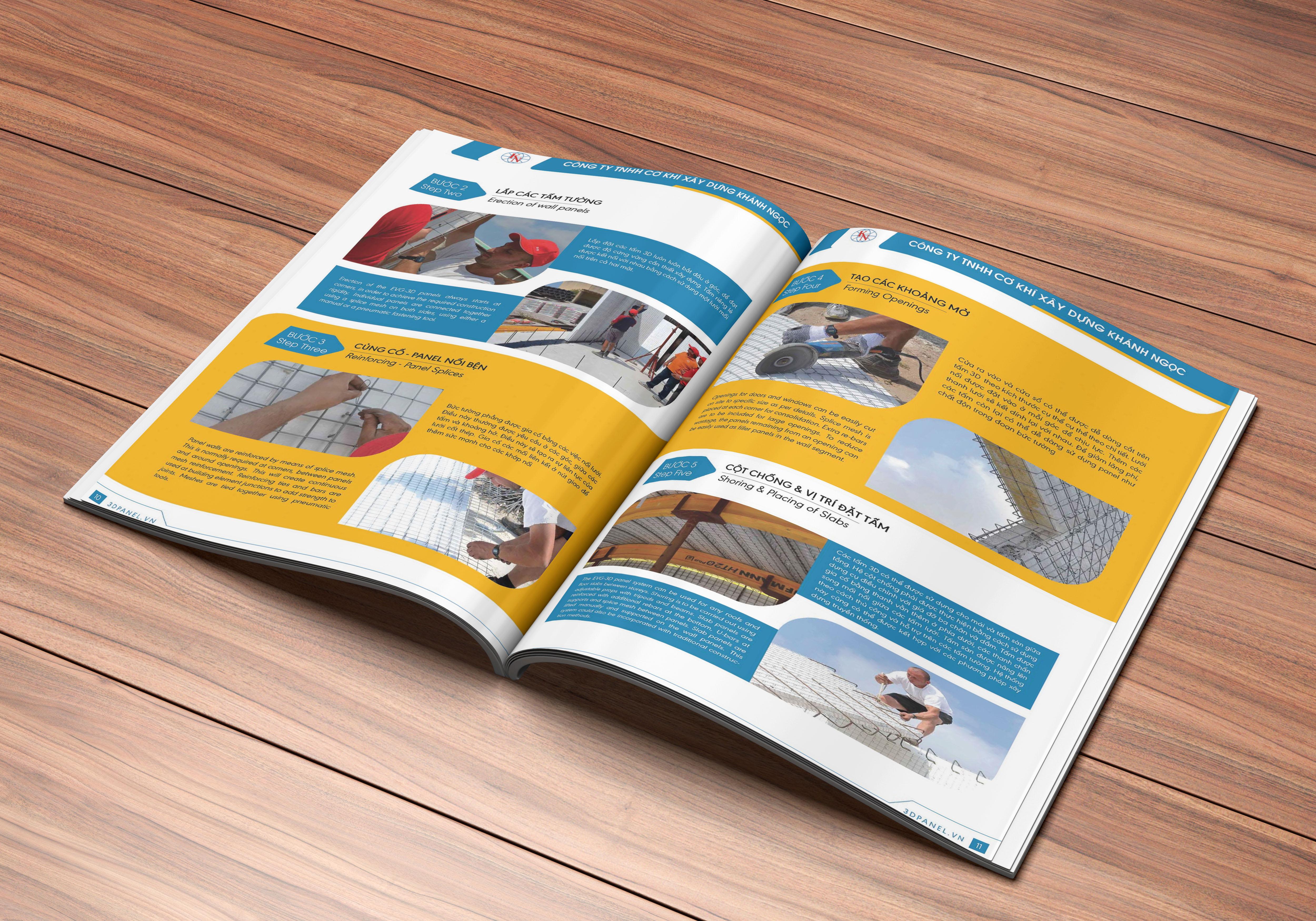 thiết kế catalogue 3d panel 2
