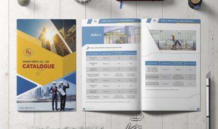 Thiết kế Catalogue 3D Panel