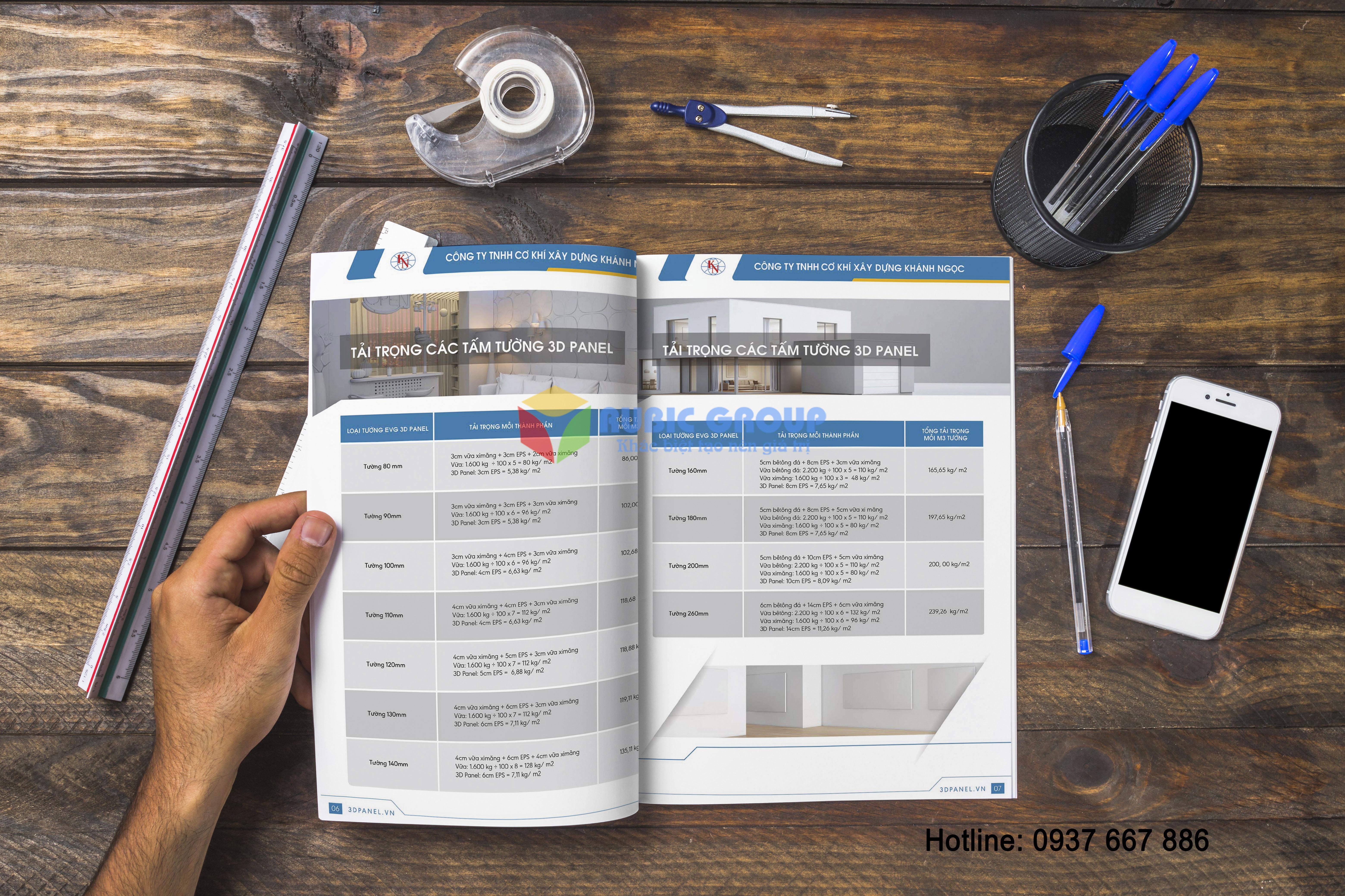 thiết kế catalogue 3dpanel tại biên hoà 1