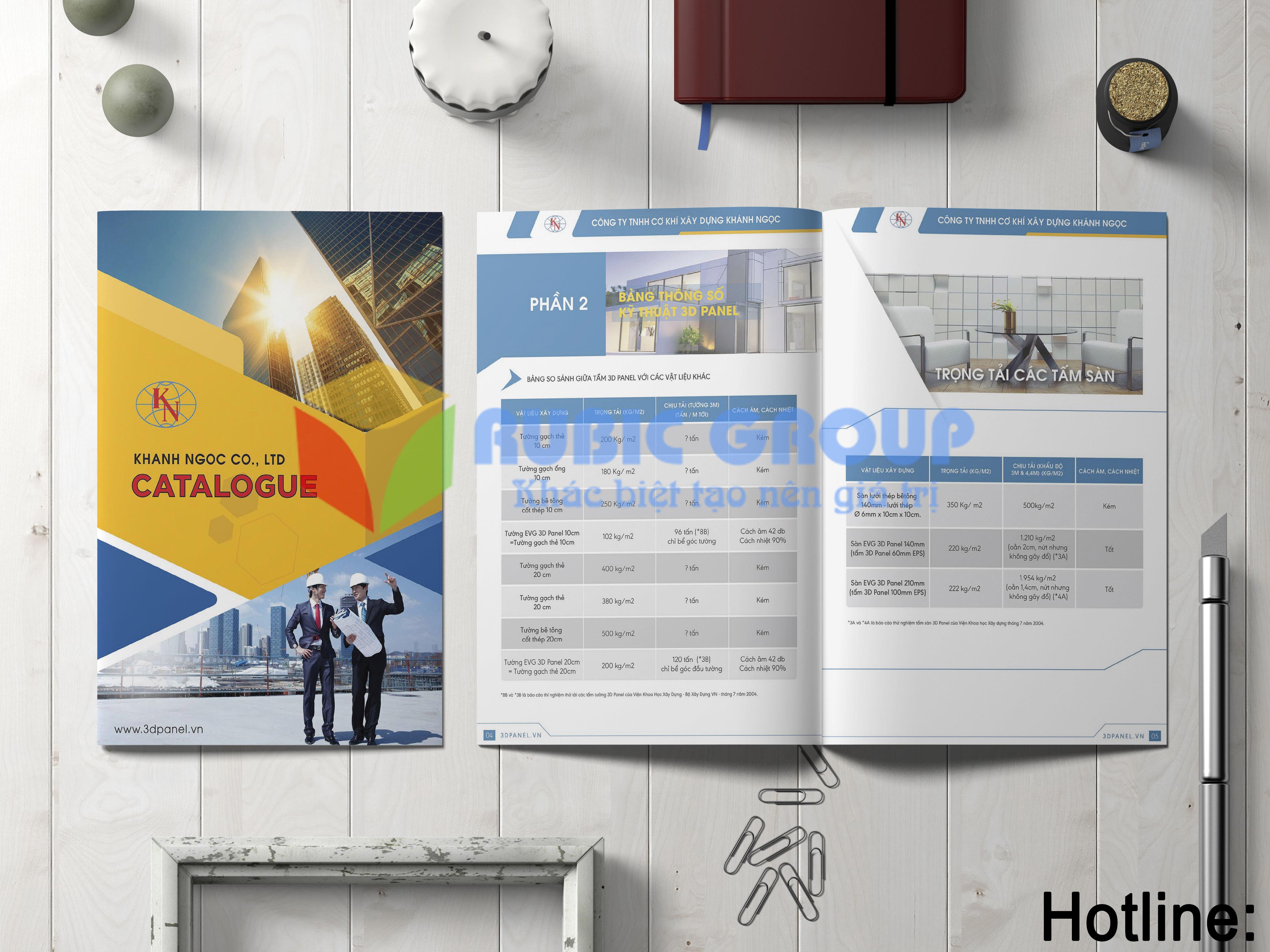 thiết kế catalogue 3dpanel tại biên hoà 2