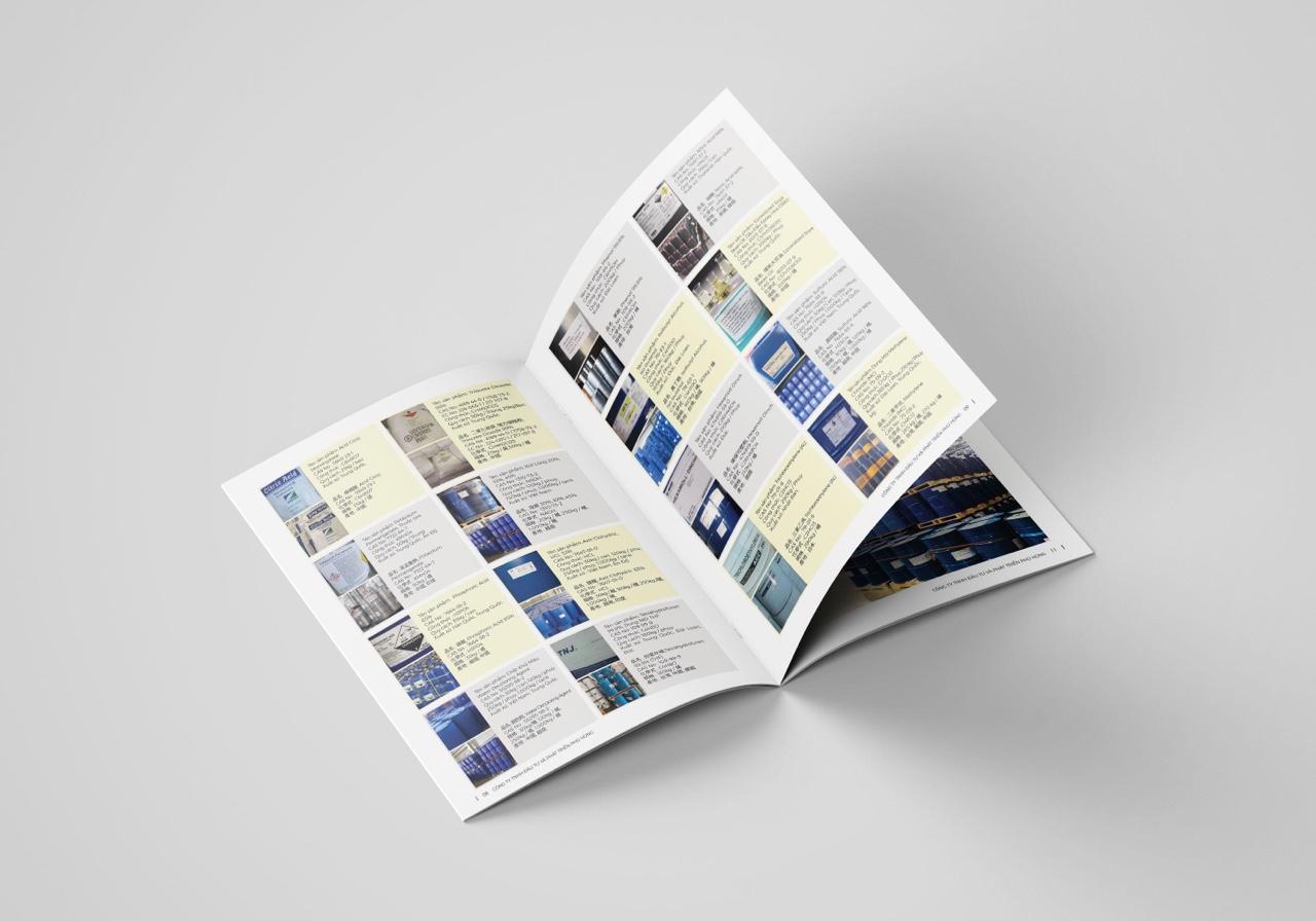 Thiết kế catalogue hoá chất phú hùng 3
