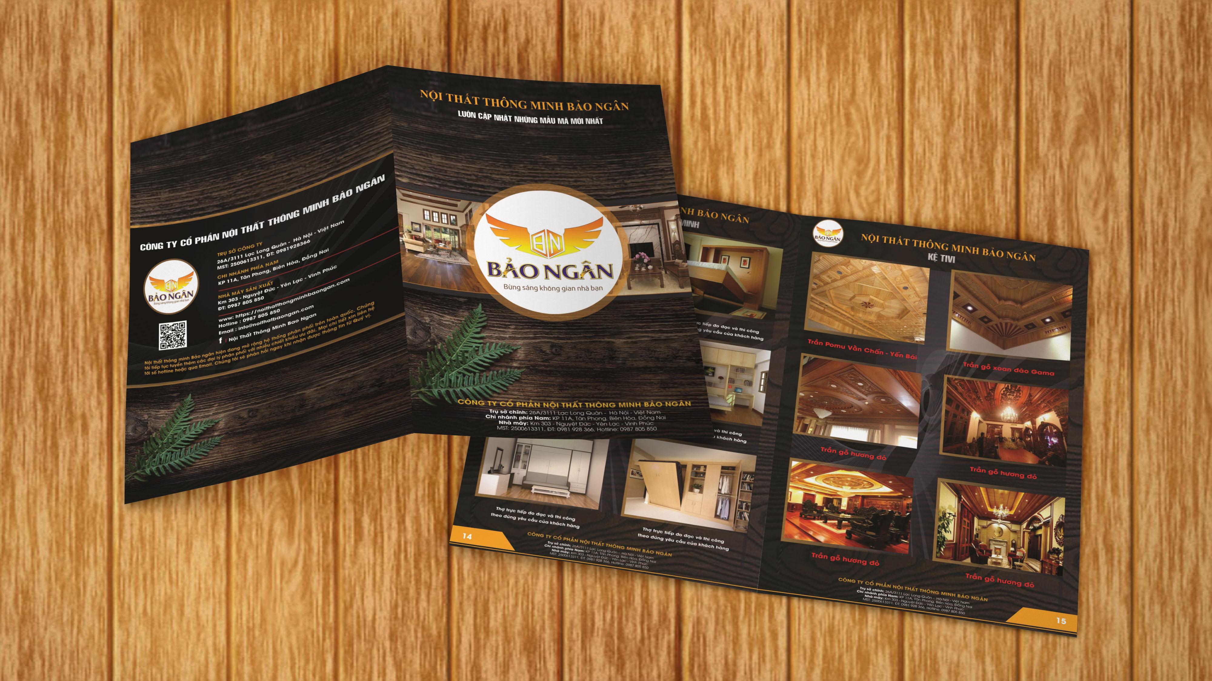 thiết kế catalogue nội thất bảo ngân 3