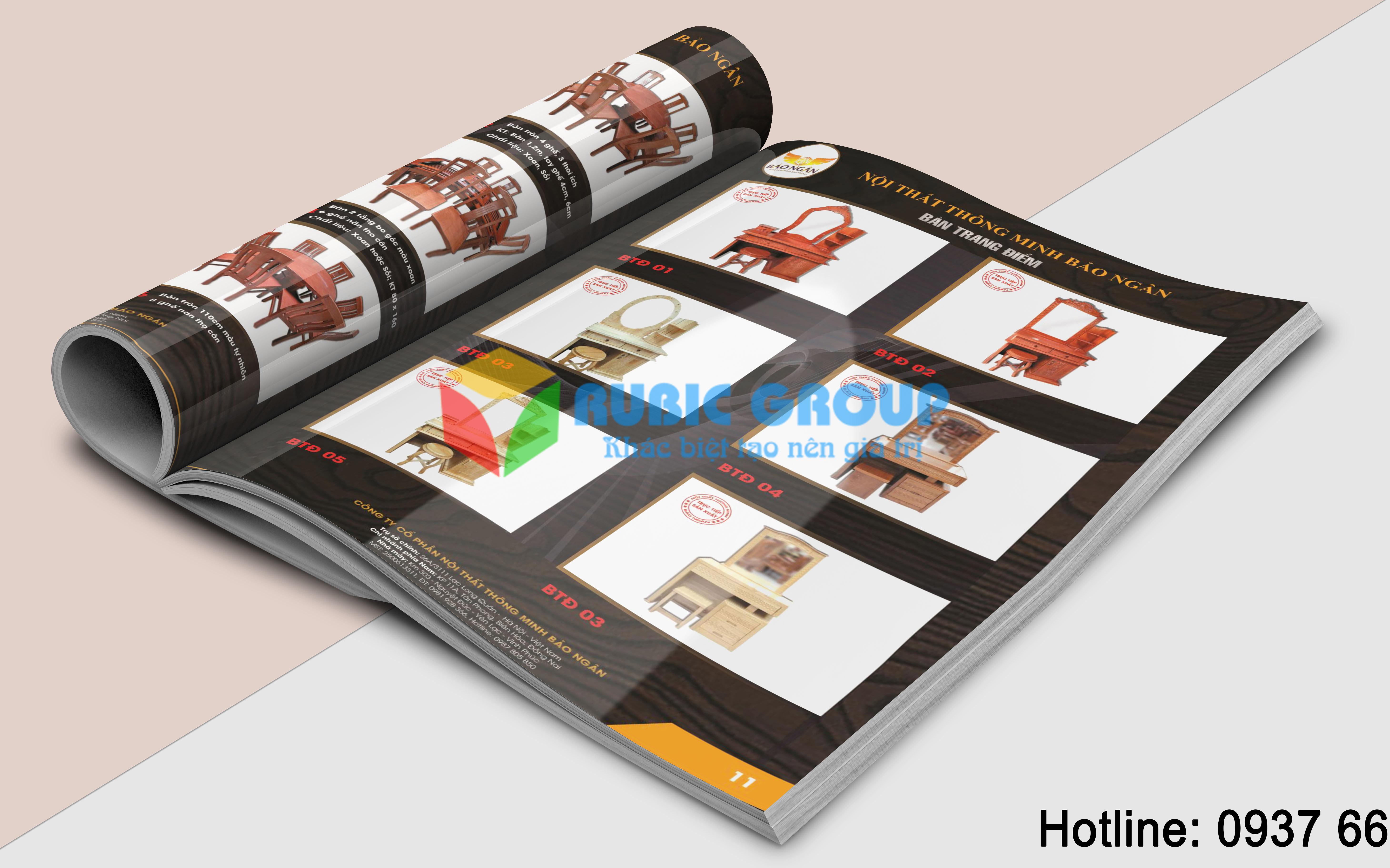 thiết kế catalogue nội thất giá rẻ biên hoà 4