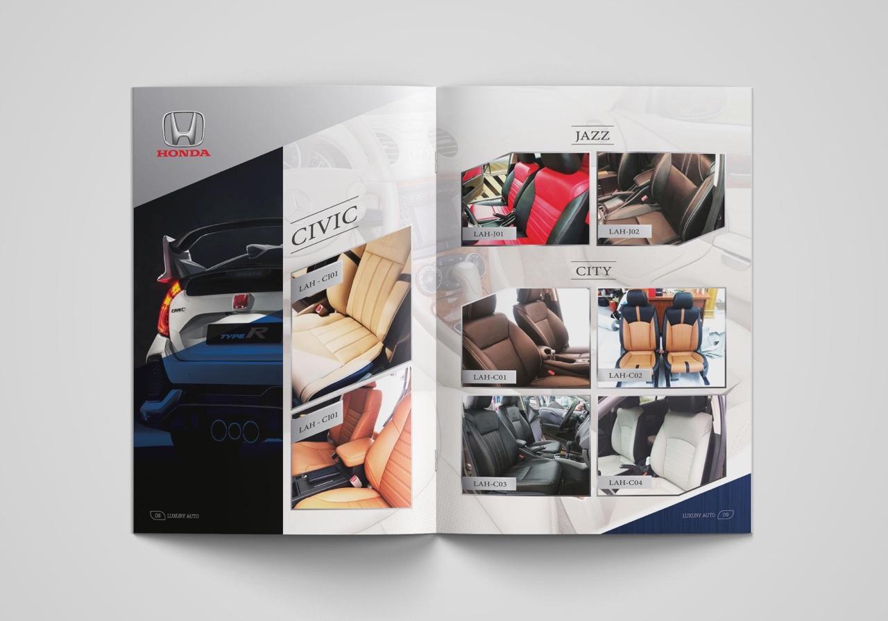 thiết kế catalogue nội thất ô tô 4