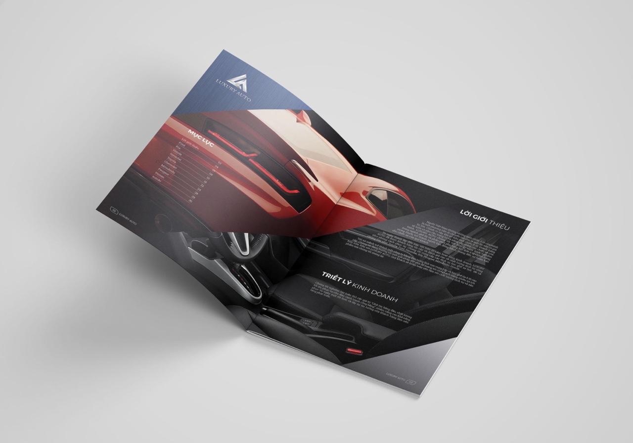 thiết kế catalogue nội thất ô tô 5