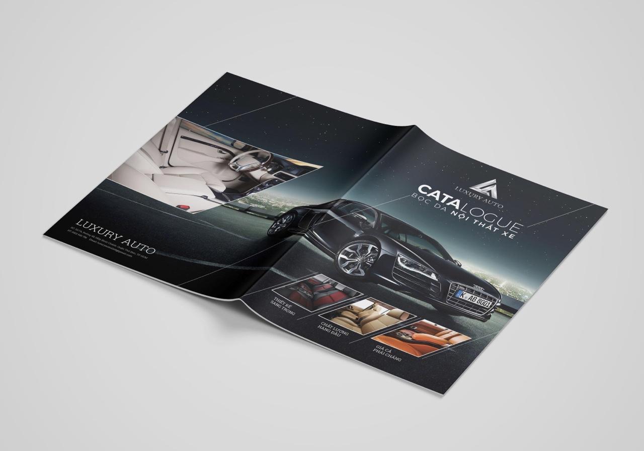 thiết kế catalogue nội thất ô tô 7