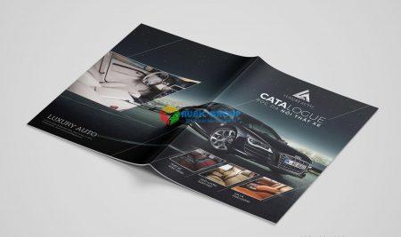 Thiết kế Catalogue nội thất ô tô