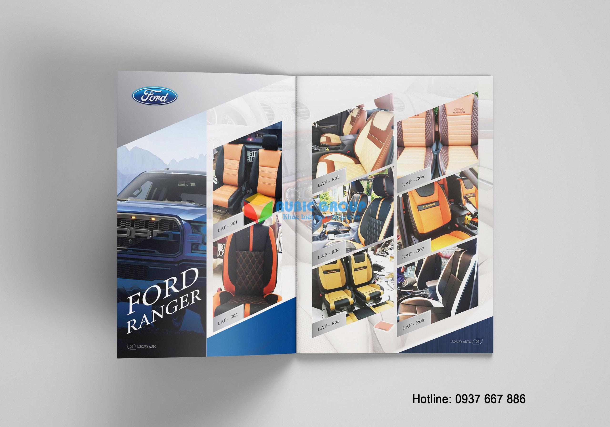 thiết kế catalogue nội thất ô tô tại tphcm 3