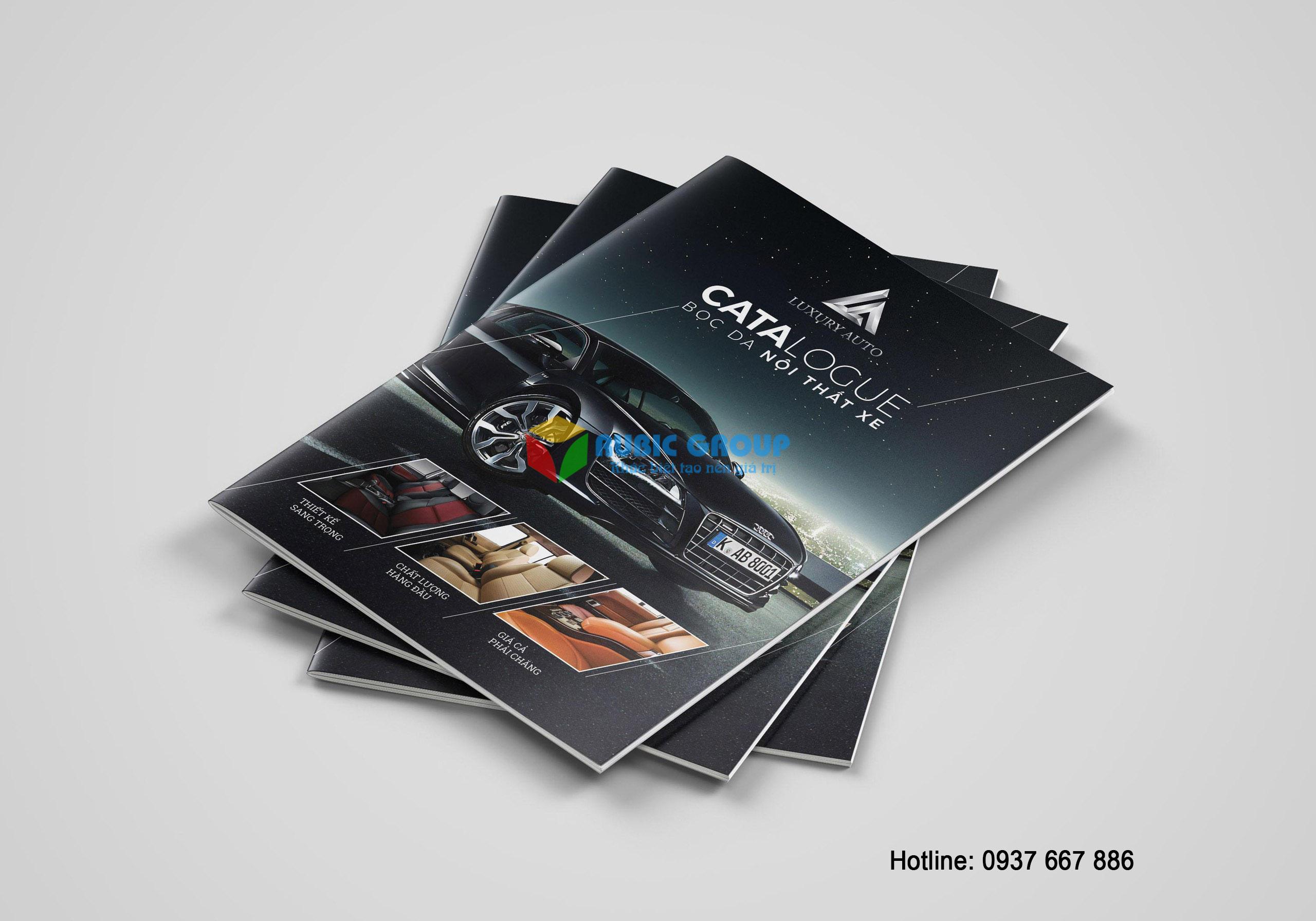 thiết kế catalogue nội thất ô tô tại tphcm 4