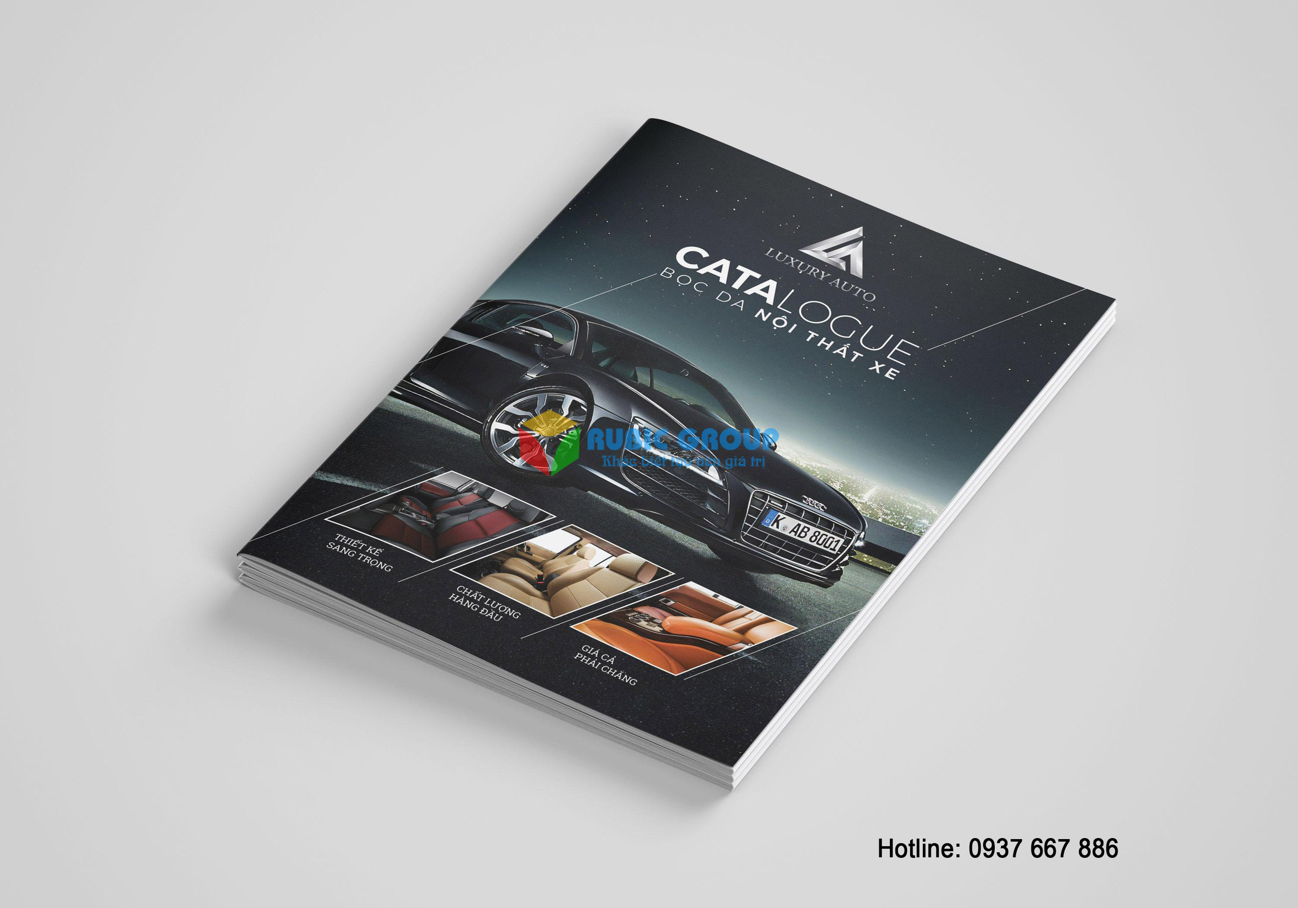 thiết kế catalogue nội thất ô tô tại tphcm 5