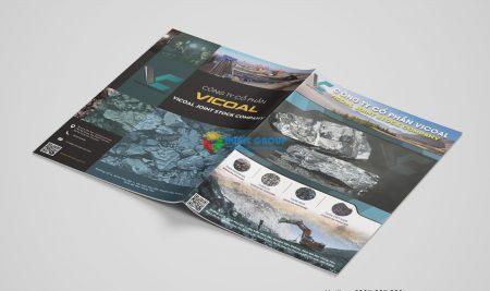 Thiết kế Brochure than đá