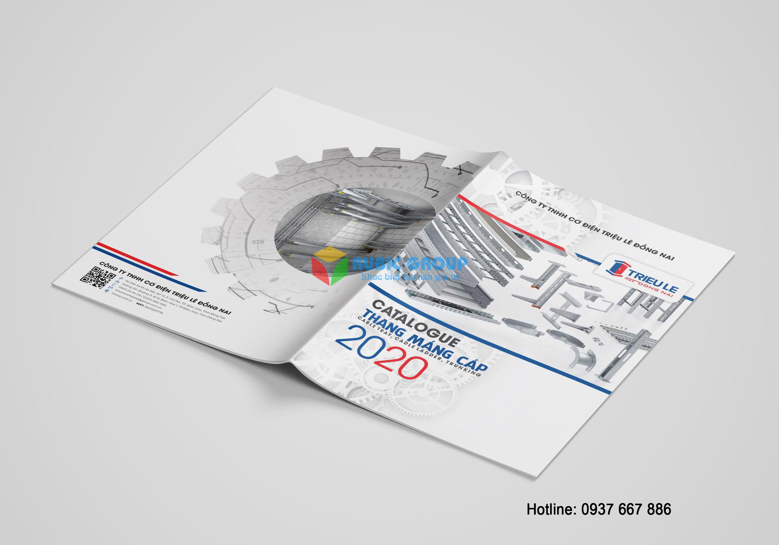 thiết kế catalogue thang cáp tại đồng nai 1