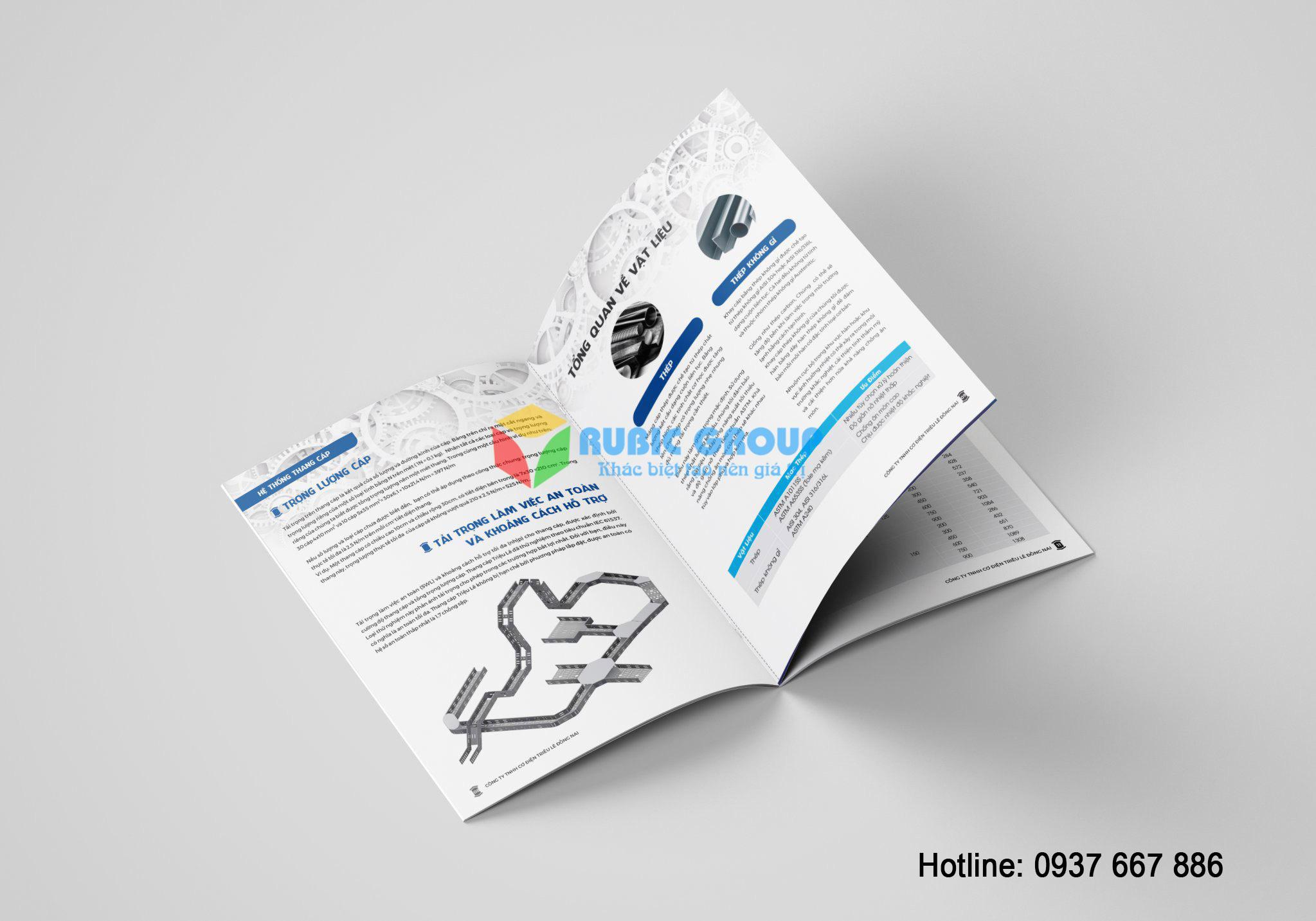 thiết kế catalogue thang cáp tại đồng nai 3