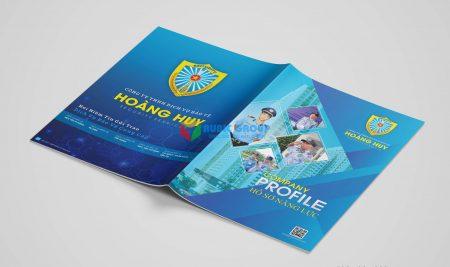 Thiết kế Profile công ty bảo vệ Hoàng Huy