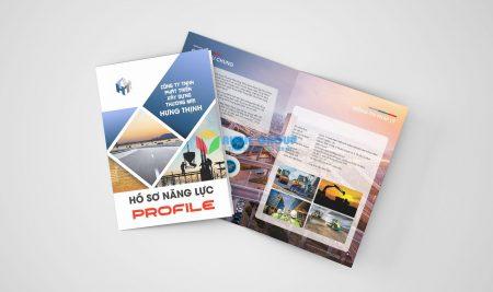 Thiết kế Profile công ty xây dựng Hưng Thịnh
