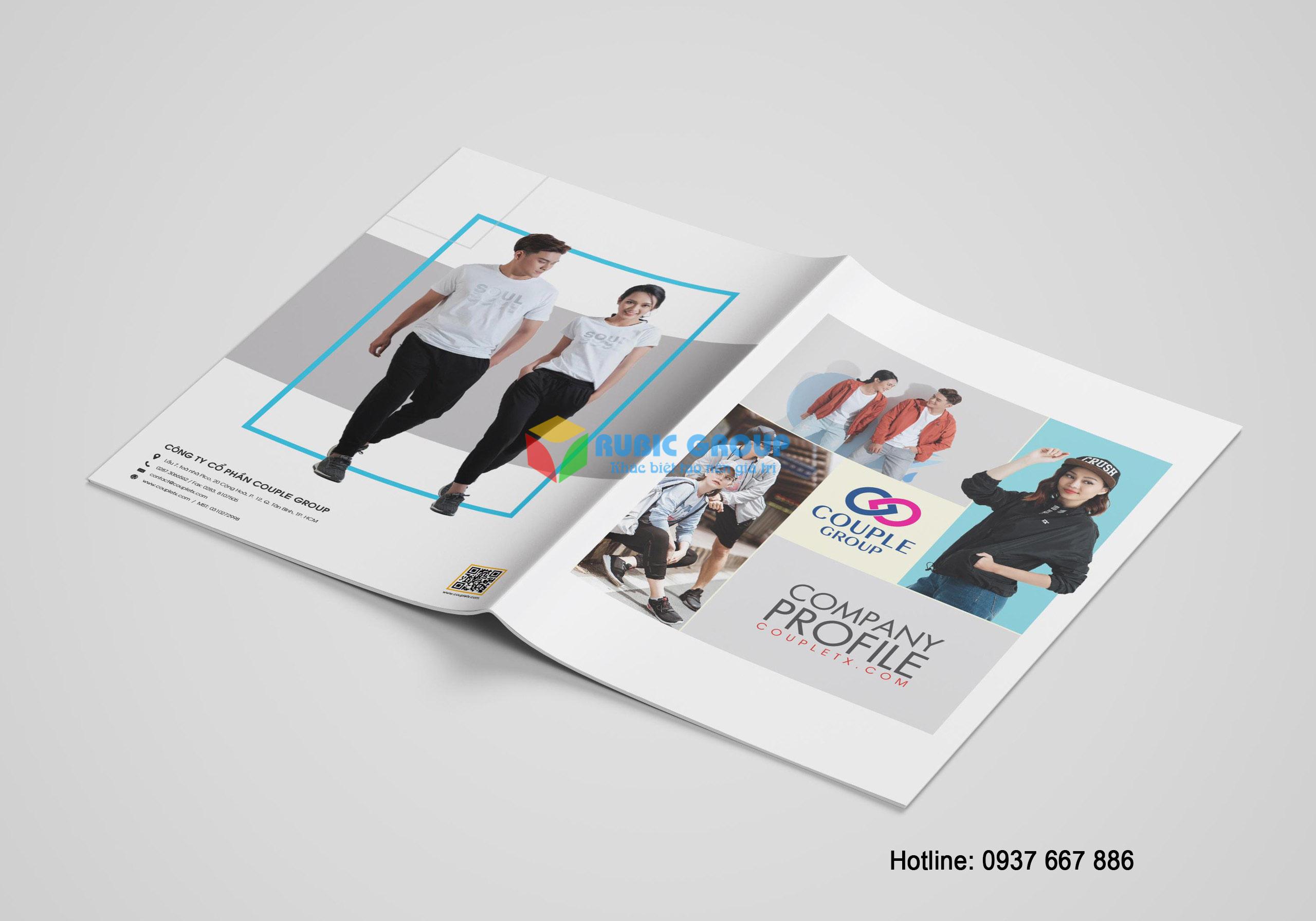 thiết kế profile thời trang couple group 1