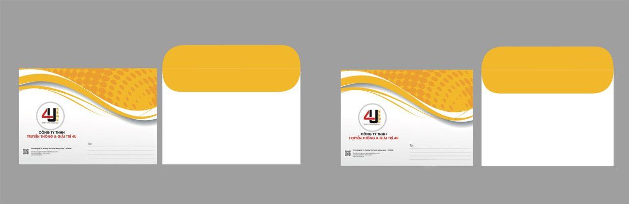 thiết kế bì thư 1