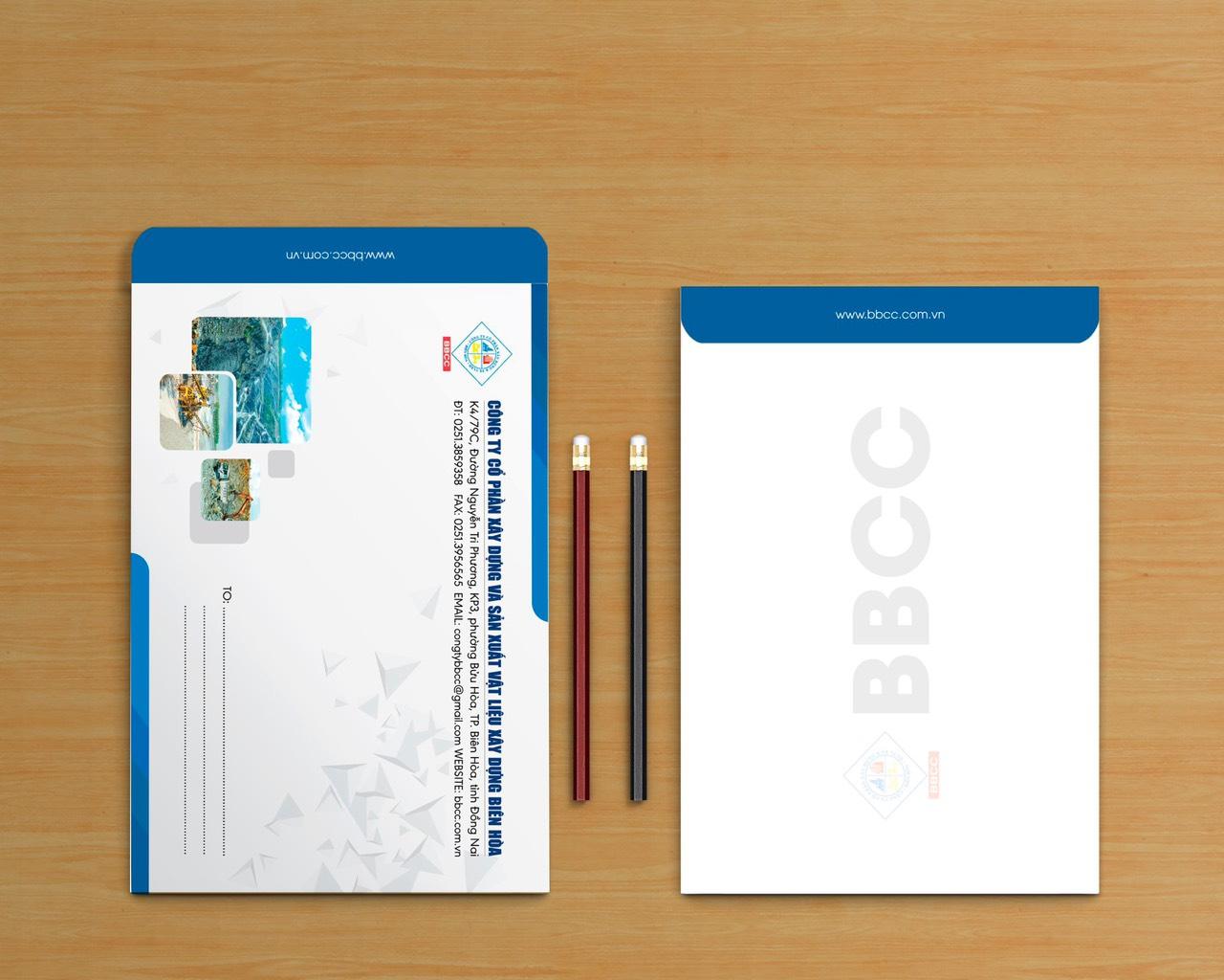 thiết kế bì thư