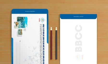 Thiết kế bì thư cho doanh nghiệp