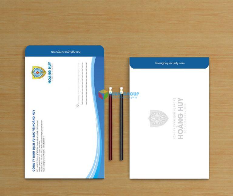thiết kế bì thư 3 giá rẻ