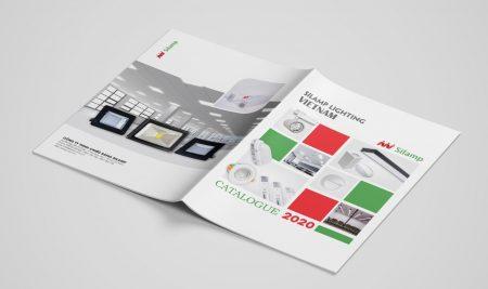 Thiết kế Catalogue Đèn Điện Silamp