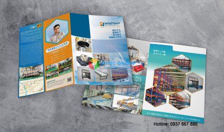 Thiết kế Catalogue Cơ Khí Nhật Nam