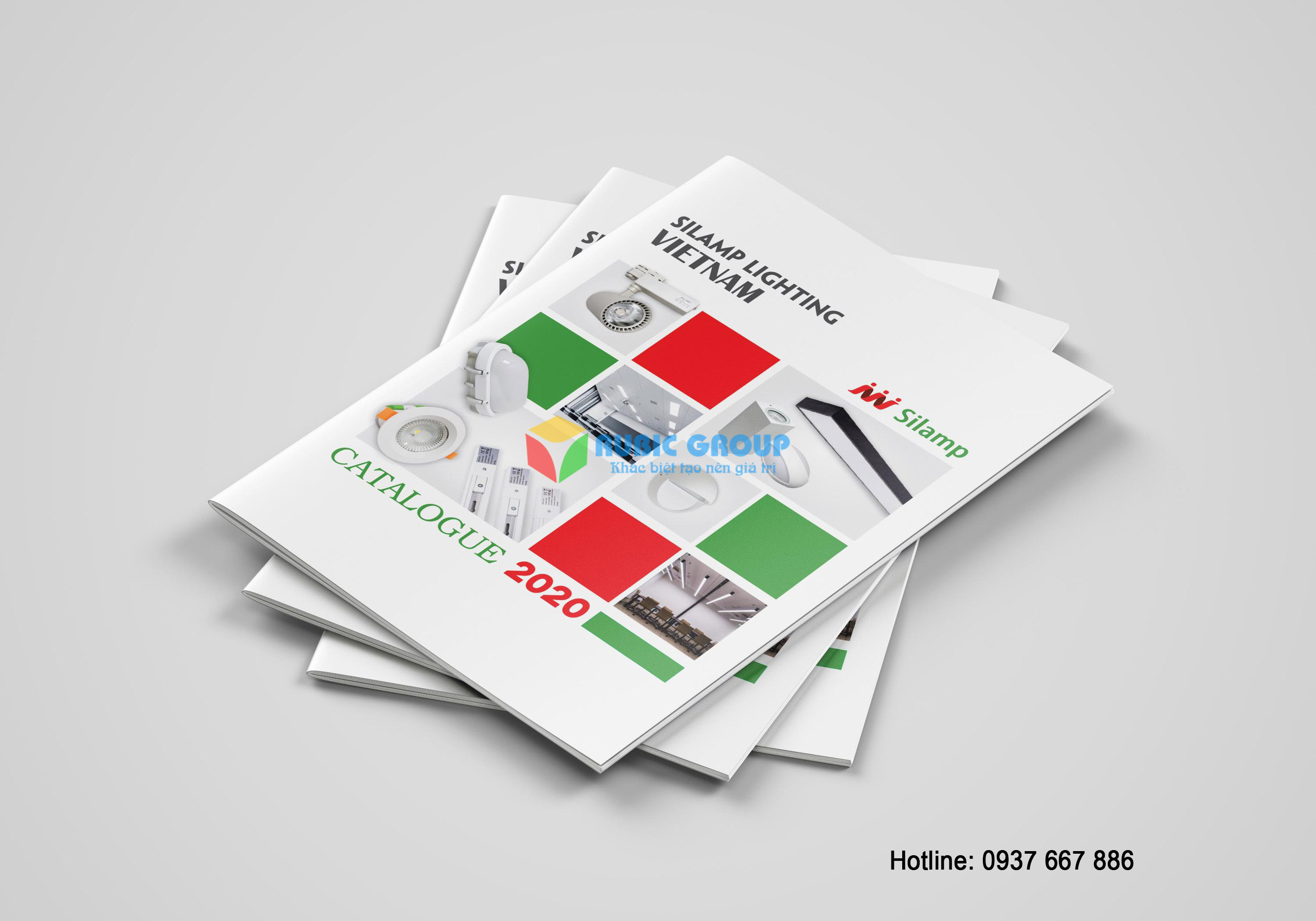 thiết kế catalogue đèn điện tại tphcm 2